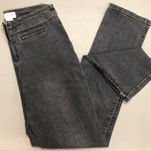 Soft Surroundings Denim Grayish Blue Pants Pockets